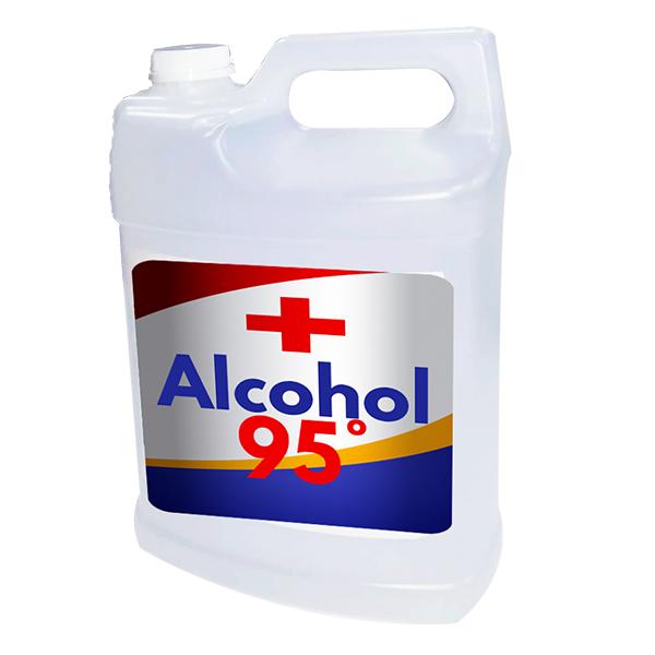 alcohol sin marca 95