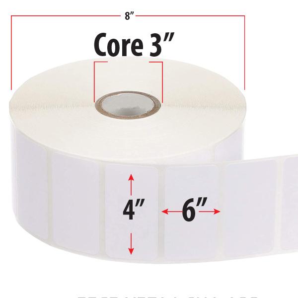 etiqueta 4×6 medidas